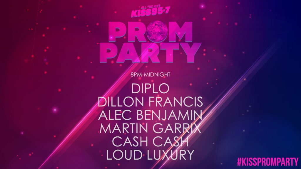 KISS 95-7 Prom Party