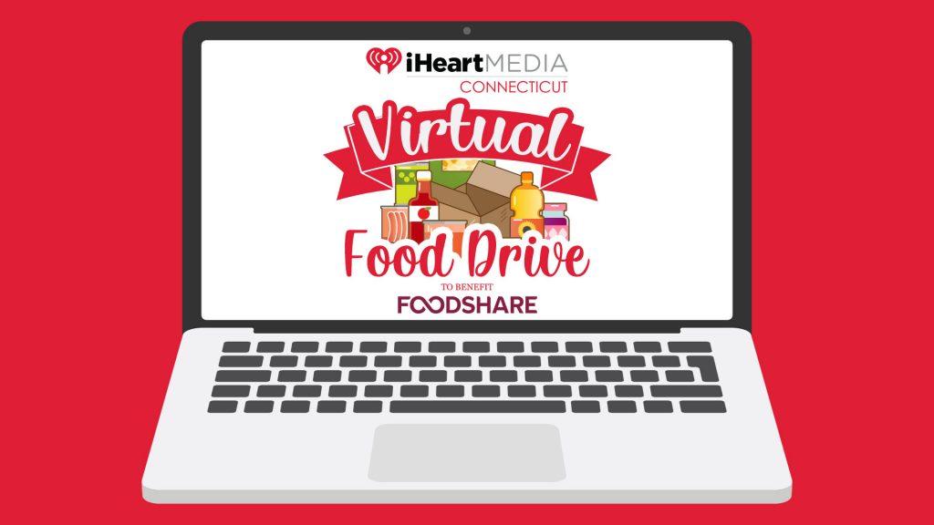 iHeartMedia Connecticut Virtual Food Drive
